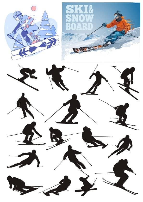 Ski set (cdr)