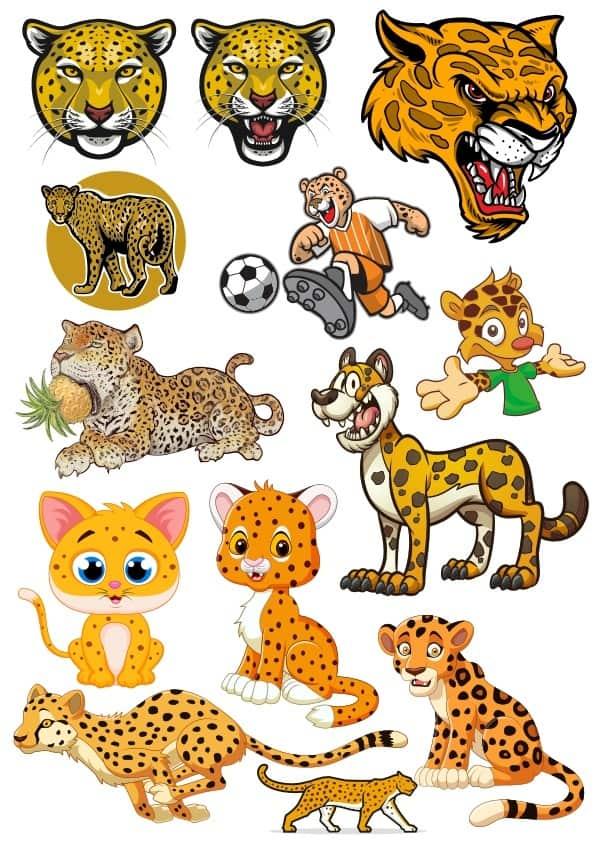 Leopard set (cdr)