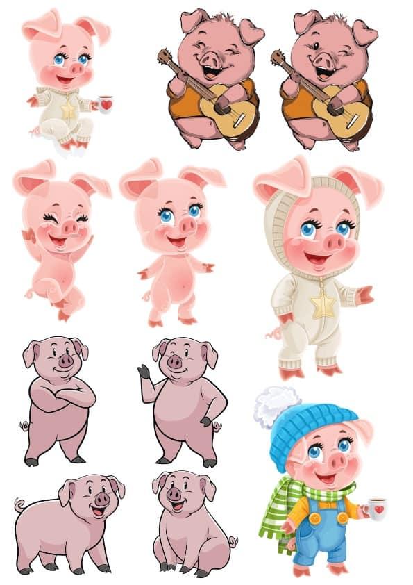 Pigs set (cdr)