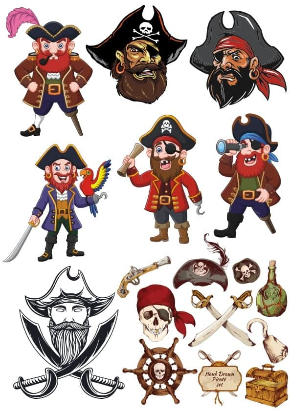 Pirates set 3 (cdr)