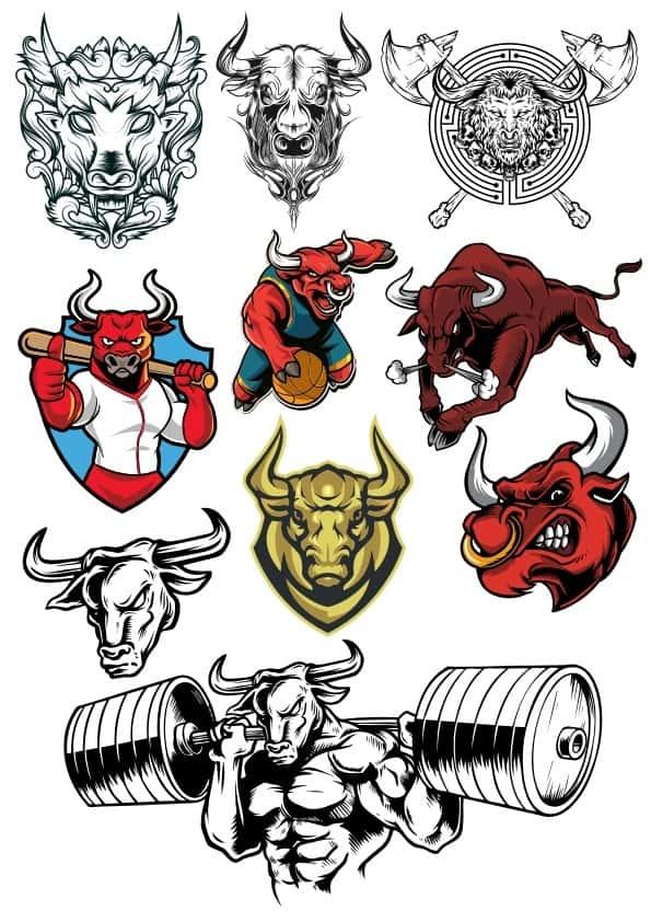 Bulls set 2 (cdr)