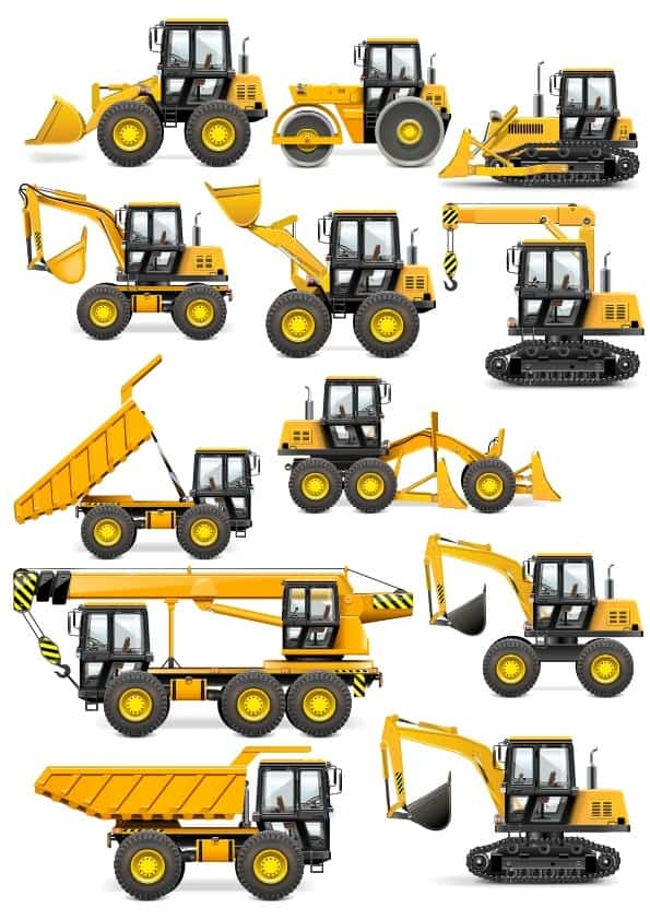 Heavy Machinery set 2 (cdr)