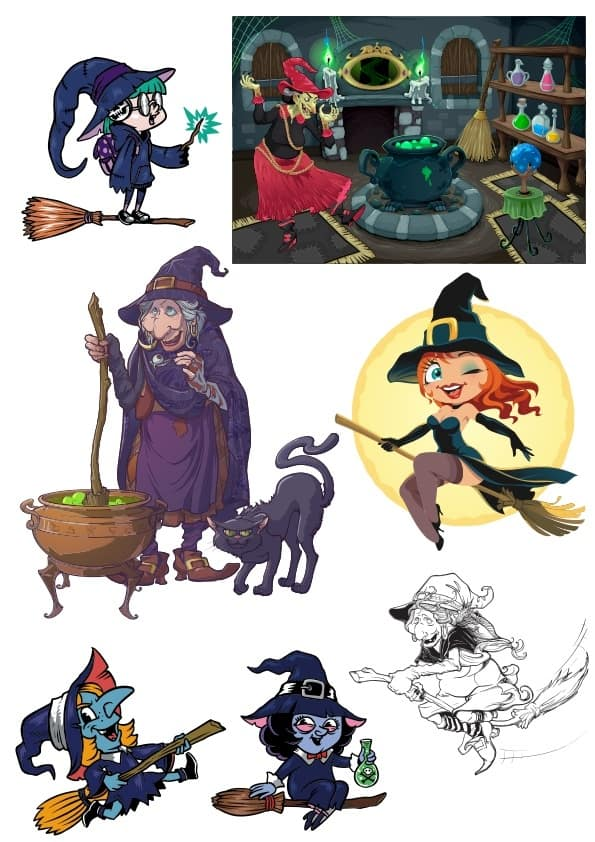 Witch set 3 (cdr)