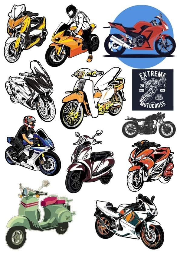 Motobike set 2 (cdr)