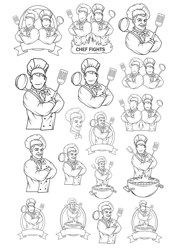 Chef set (cdr)