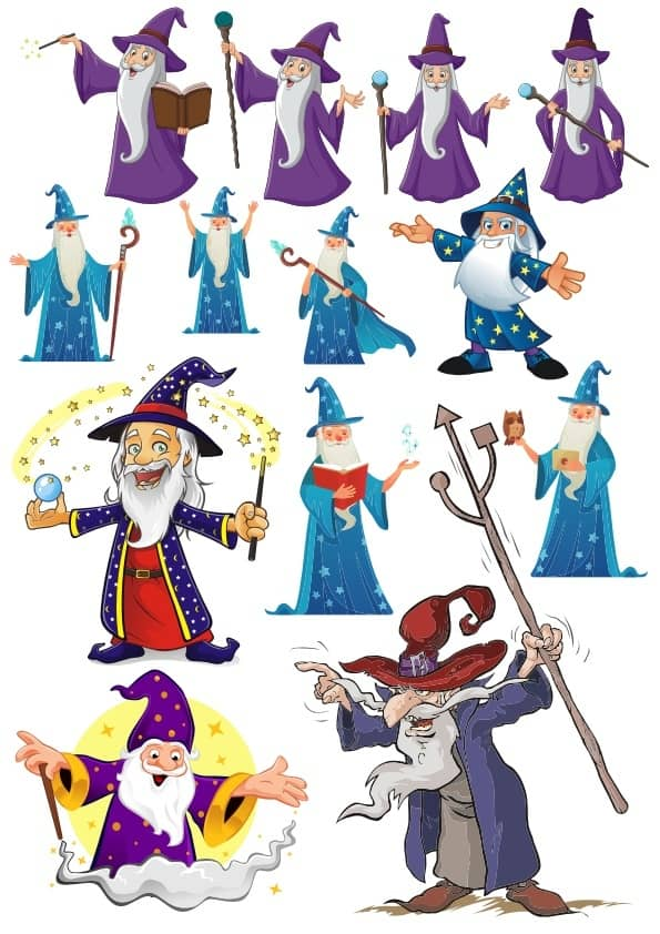 Wizard set (cdr)