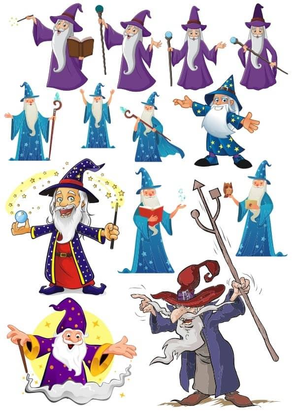 Wizard set (cdr)
