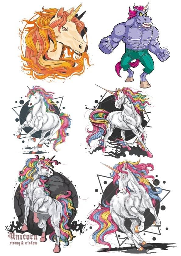 Mighty Unicorns set (cdr)