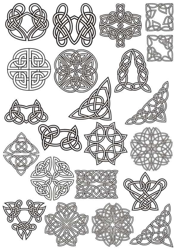 Celtic ornaments set 2 (cdr)