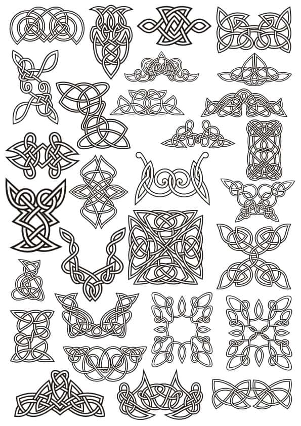 Celtic ornaments set 3 (cdr)