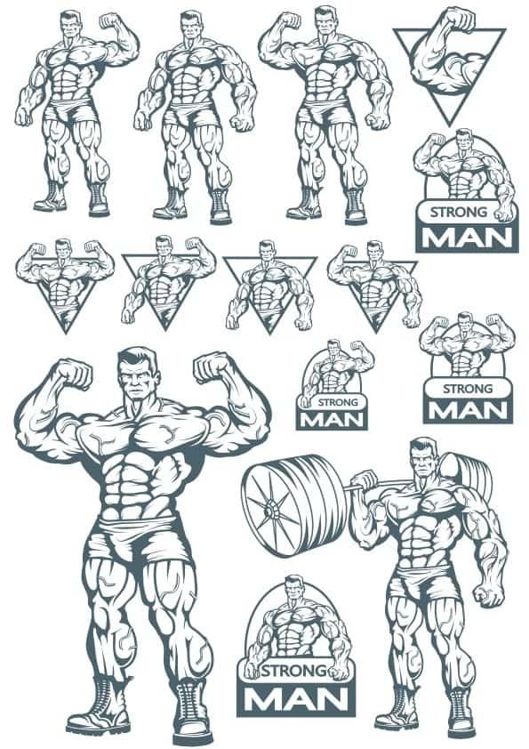 Strong Man set (cdr)